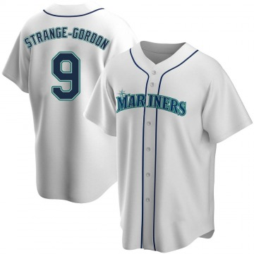 Replica Dee Gordon Youth Seattle Mariners White Home Jersey