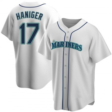 Replica Mitch Haniger Youth Seattle Mariners White Home Jersey
